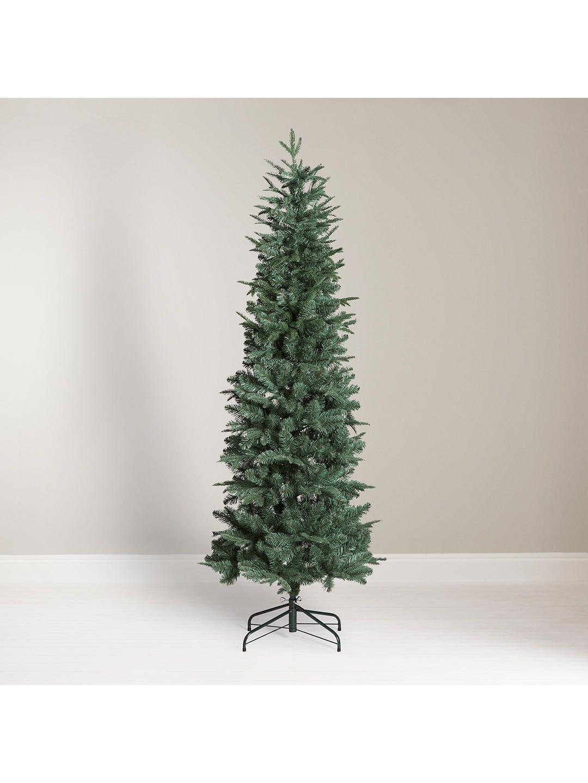 11 slim christmas trees