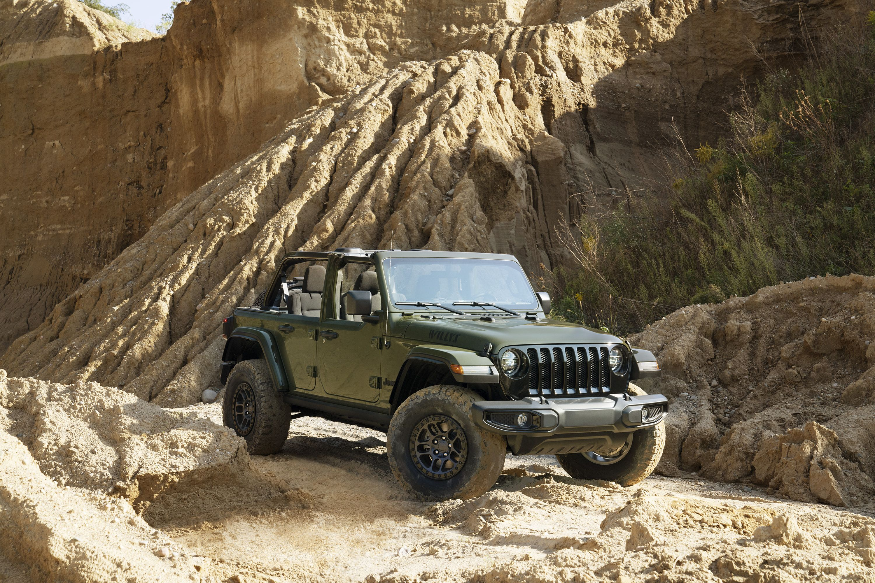 2022 jeep wrangler willys with recon package