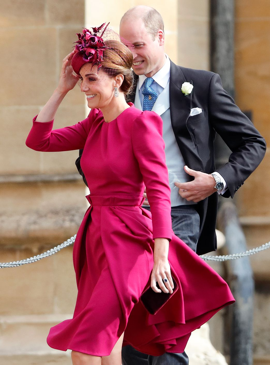 Kate Middleton Wore Her Alexander McQueen Dress from Eugenies Wedding to Trooping the Colour