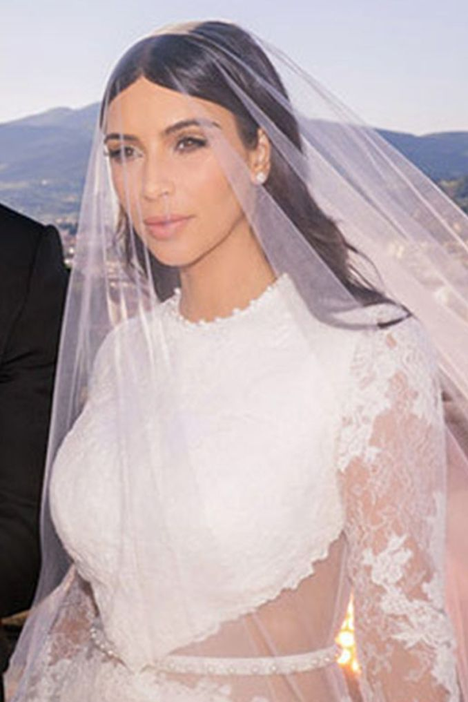 52 celebrity wedding beauty looks - the most iconic bridal