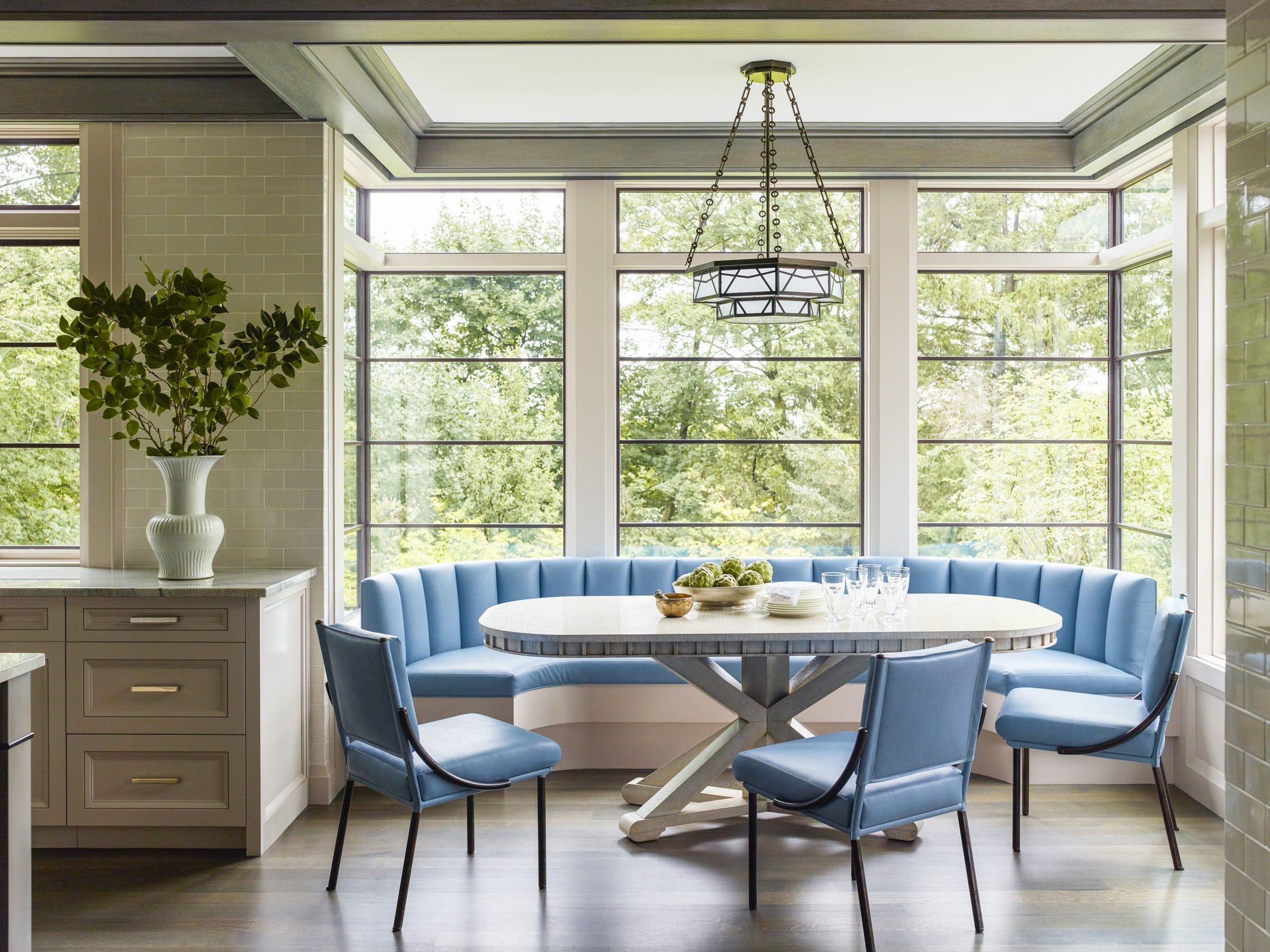 25 Charming Kitchen Banquette Ideas Gorgeous Banquette Seating Photos