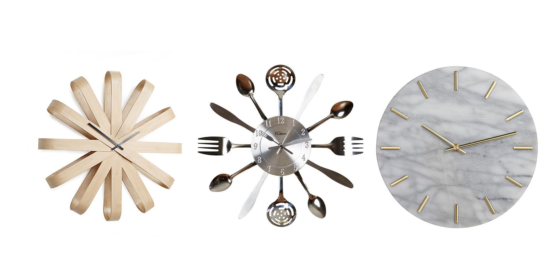 kitchen clocks kids appliances 15 best wall stylish clock ideas for kitchens