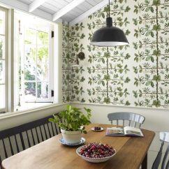 Wallpaper For Kitchen Butcher Block Islands Gorgeous Ideas Best Walls