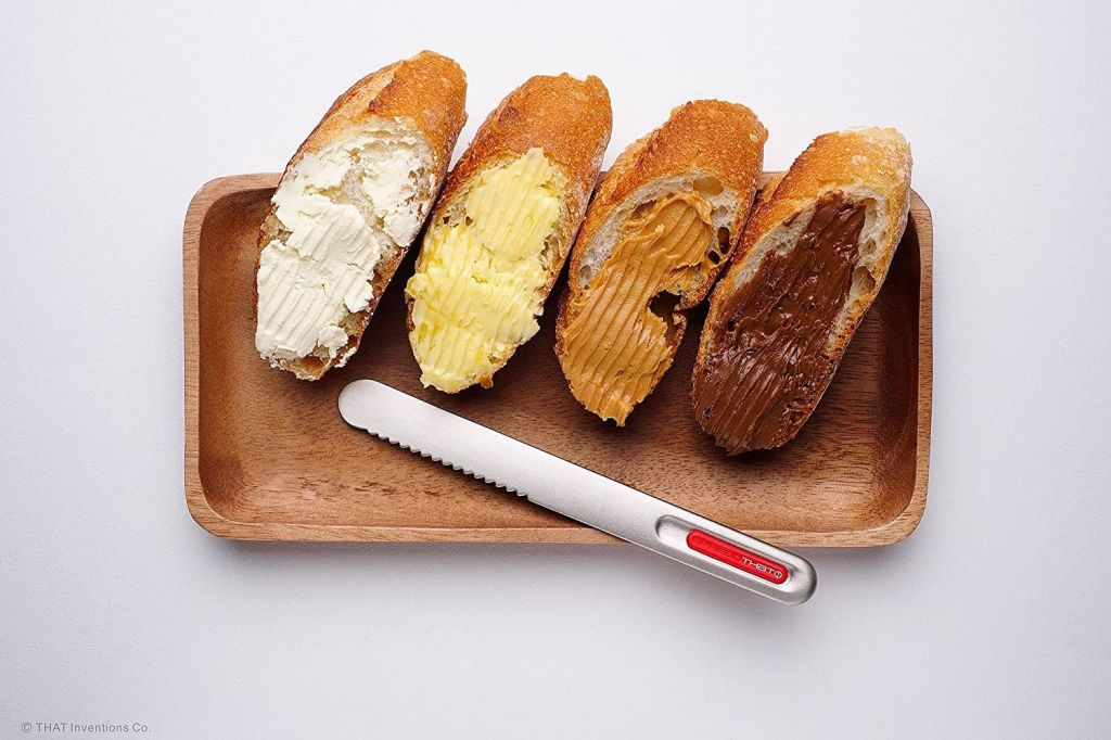 I'm speechless..This Knife Uses A Heat Technology To Make Spreading Butter Even Easier