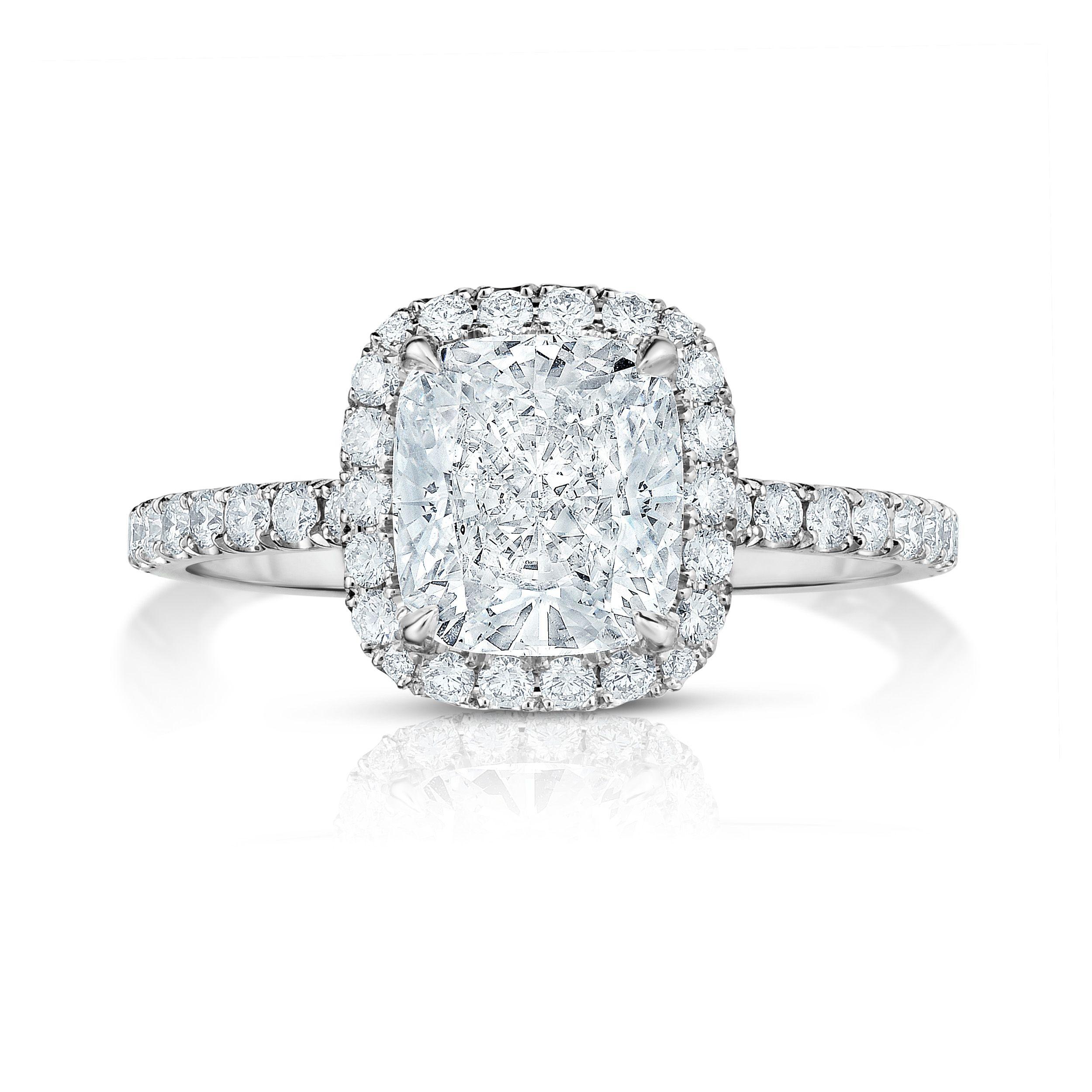 35 best cushion cut diamond engagement