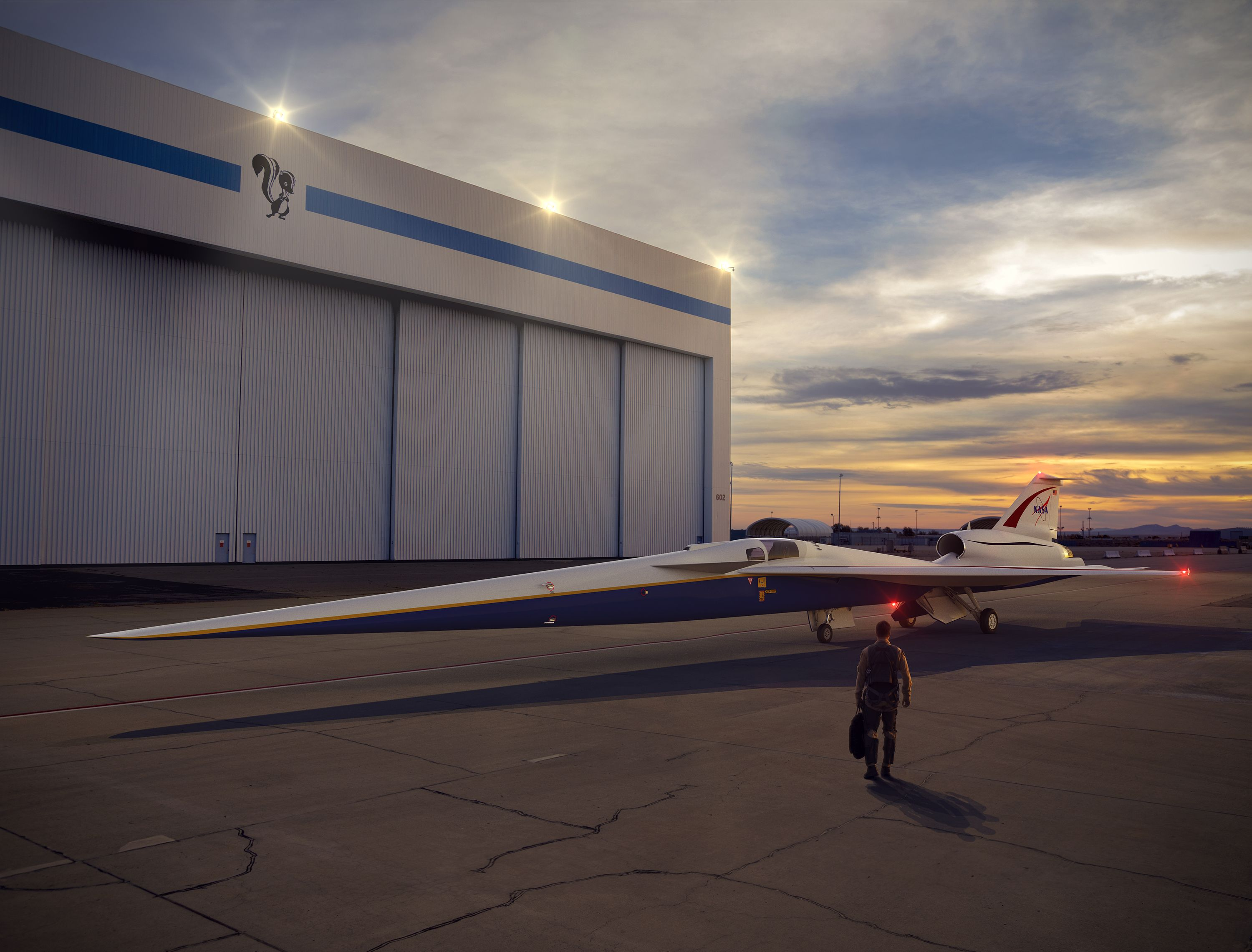 X-59 Quiet Boom: Meet the NASA Test Pilot Who'll Fly the Next Supersonic X-Plane