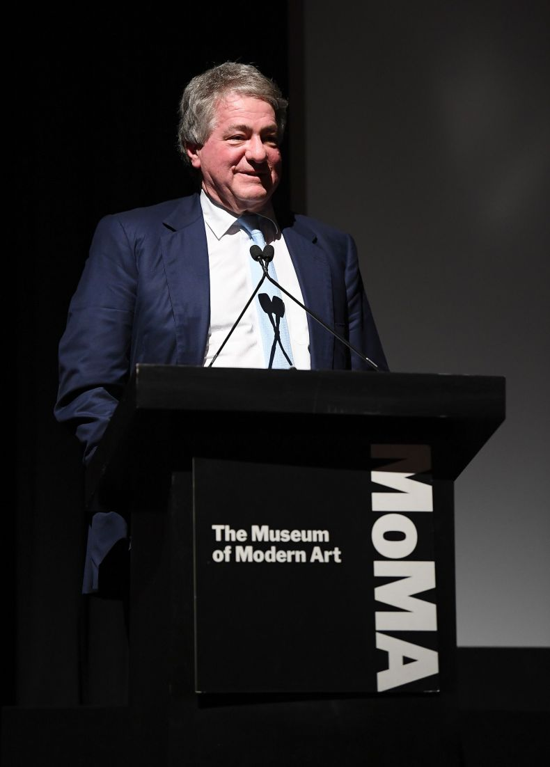 the museum of modern art film benefit presented by chanel a tribute to martin scorsese  inside