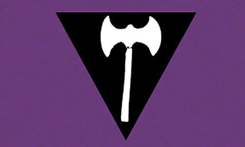 Violet, Purple, Logo, Fictional character, Batman, Font, Graphic design, Symbol, Emblem, Illustration,