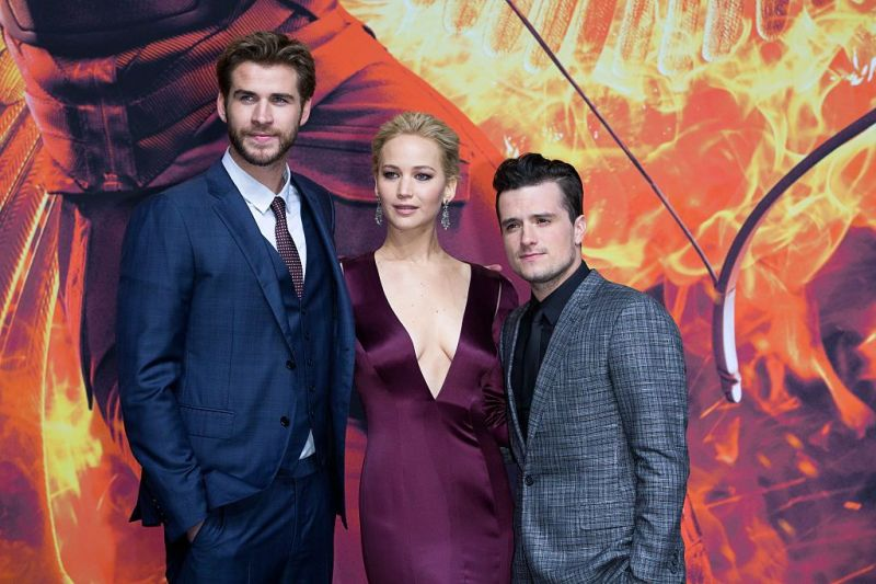 'the hunger games mockingjay   part 2' world premiere in berlin