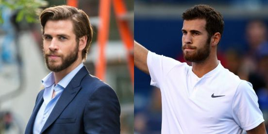 Liam Hemsworth & Karen Khachanov