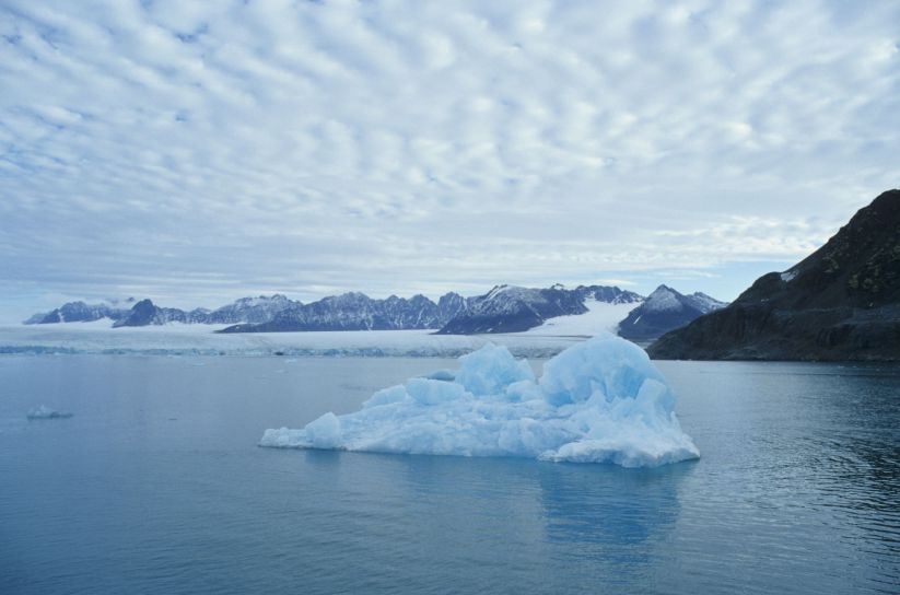 Liliehoeoek Glacier / Polo norte
