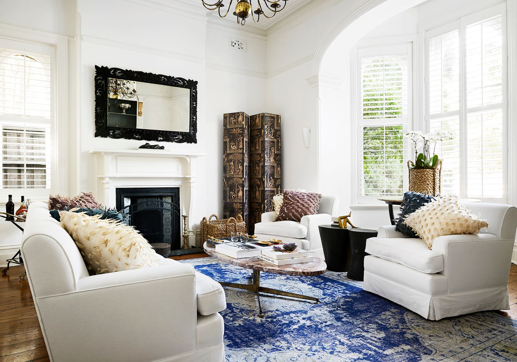living and family room