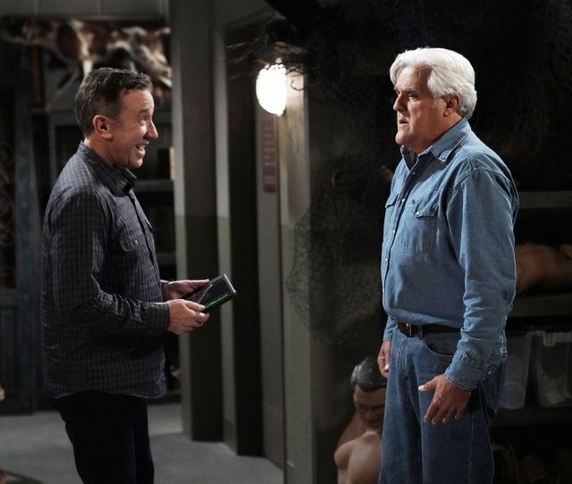 Last Man Standing Jay Leno Appearance Jay Leno Guest Stars On Last Man Standing