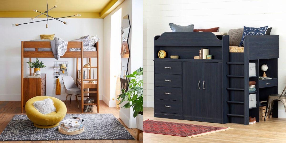 14 Best Loft Beds For Adults 2020 Stylish Adult Loft Beds