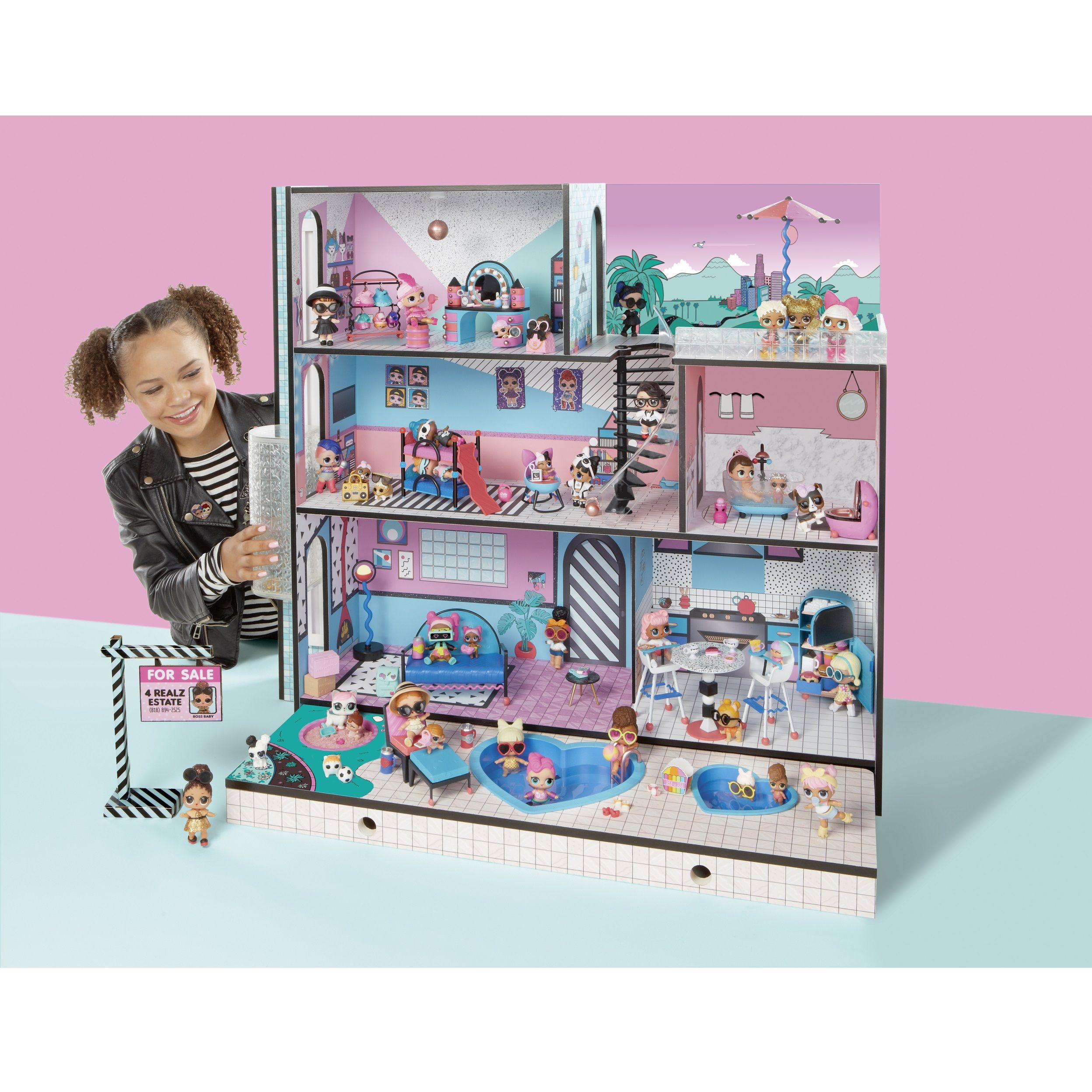 Where You Can Buy L O L Surprise Hair Goal Dolls House And Store Online
