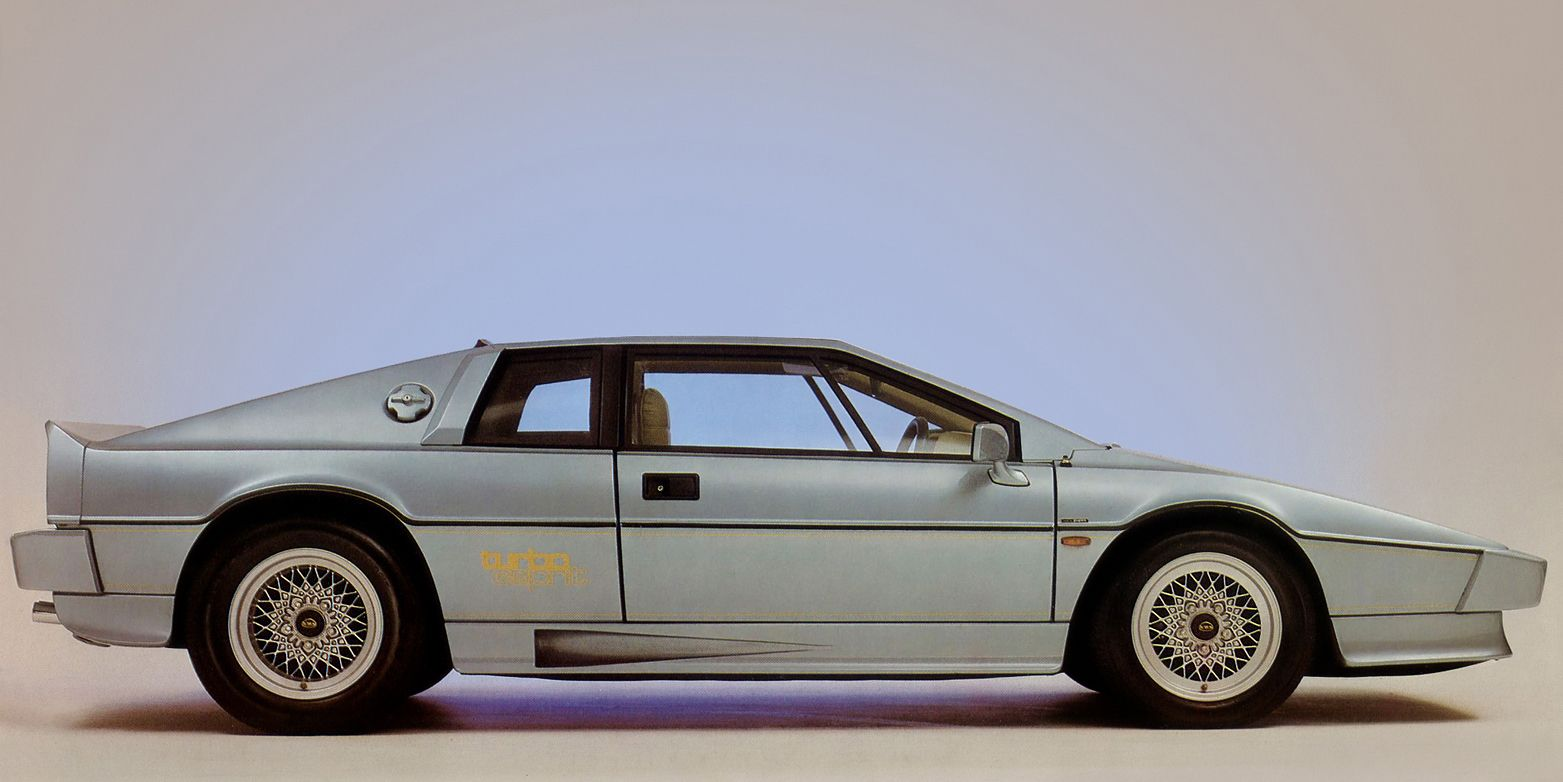 Vintage Cars In Garage Wallpaper Hd A 1987 Lotus Esprit Turbo Is A Lovely Thing