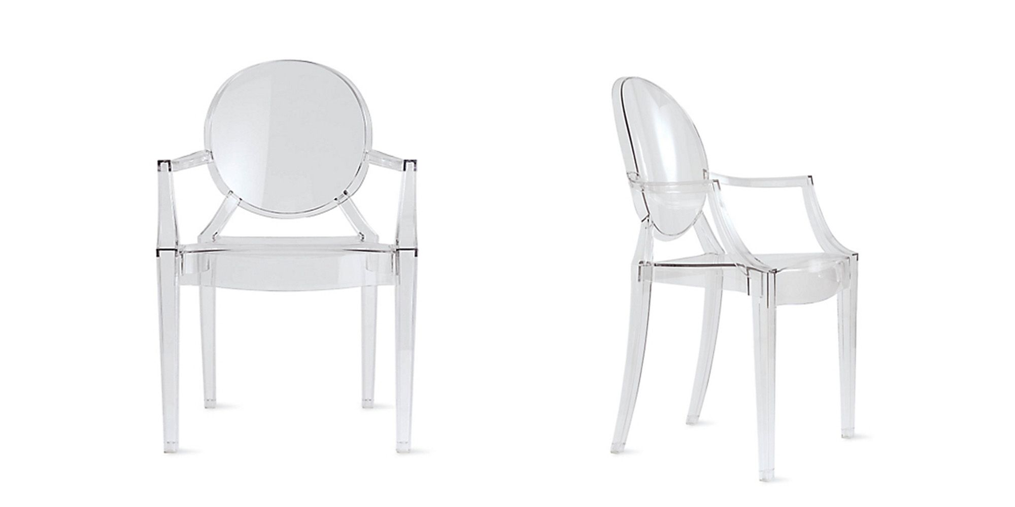 ghost chairs 18 inch doll table and the history of philippe starck s louis chair kartell