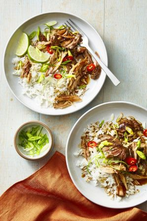 Maple-Glazed Five-Spice Pork - Healthy Lunch Ideas