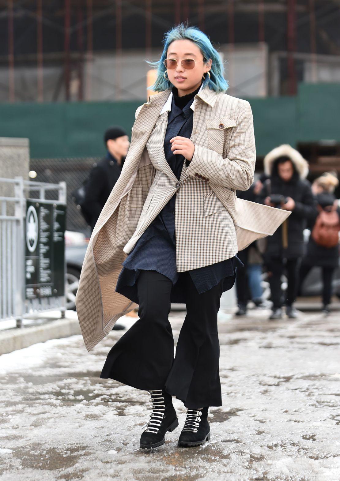 Street Style - New York Fashion Week February 2019 - Day 7