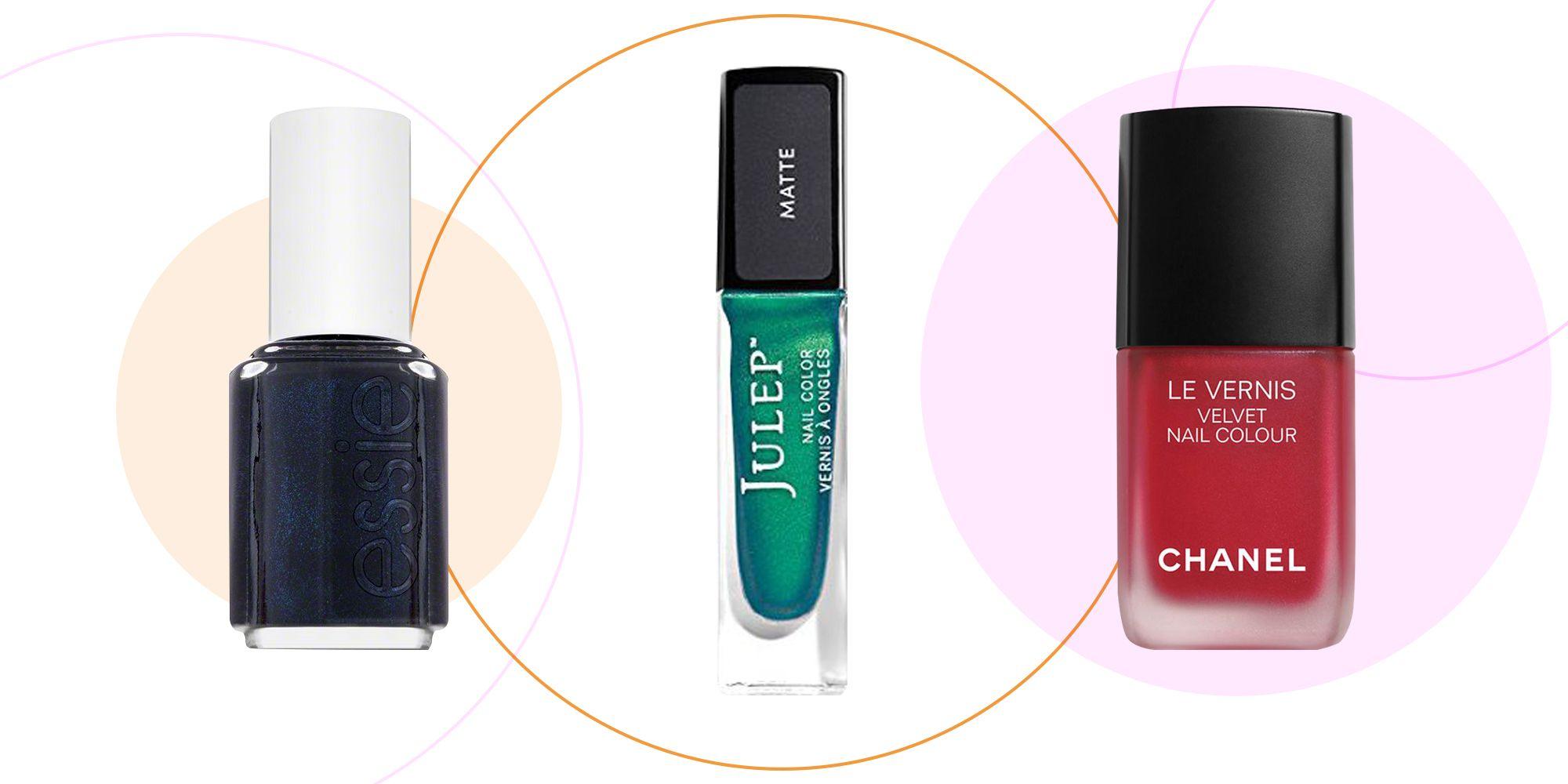 9 matte nail polishes