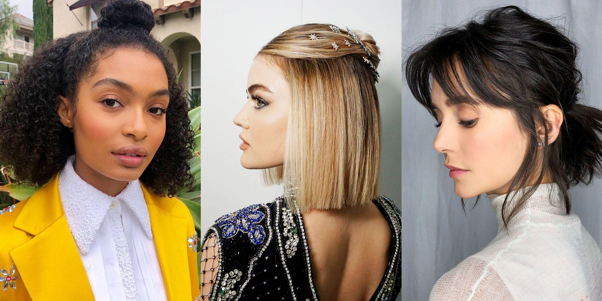easy medium hairstyles