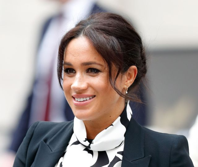 The Duchess Of Sussex Joins A International Womens Day Panel Discussion