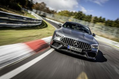 Watch the Hot Mercedes-AMG GT63 S Set a Nürburgring Record