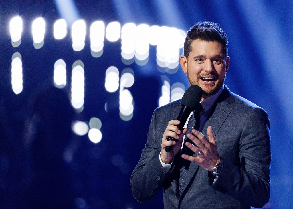 michael bublé is going