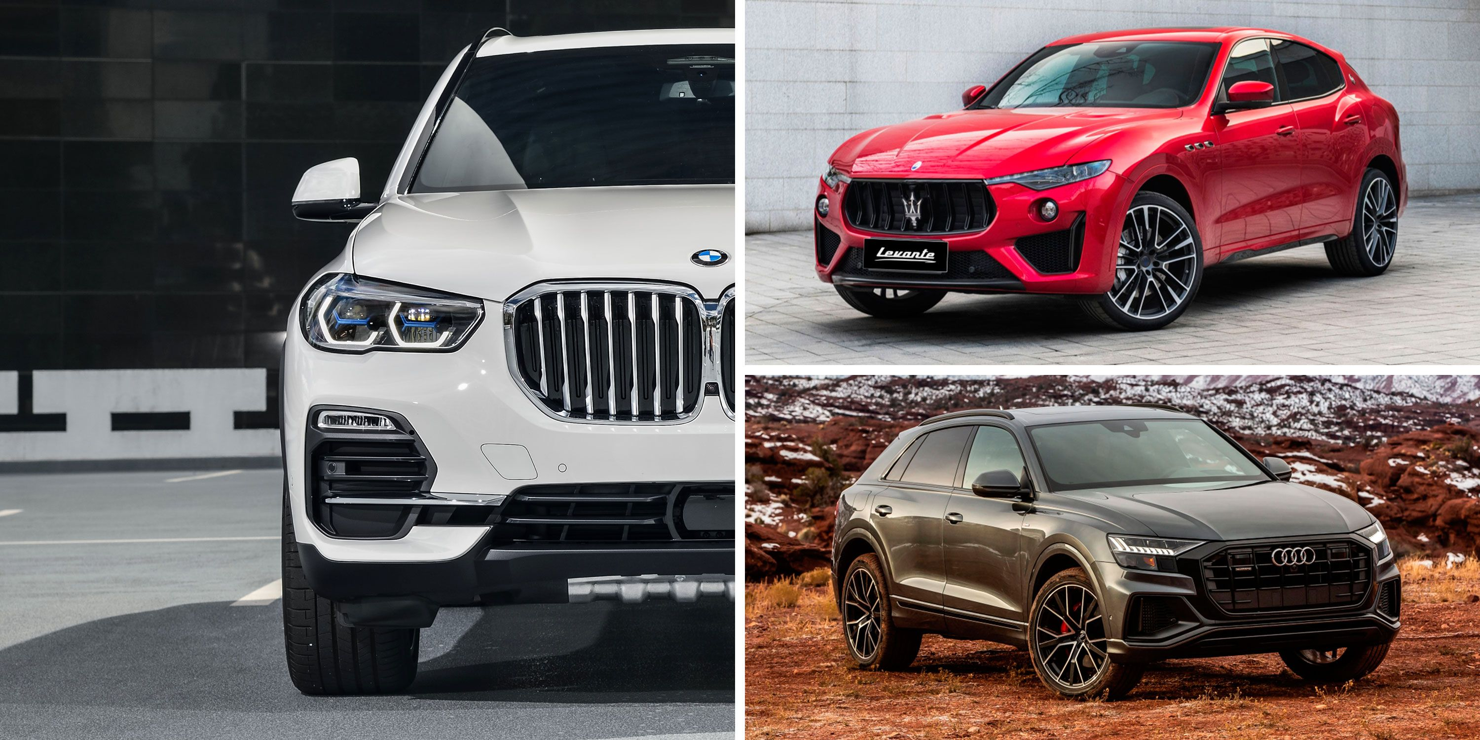 The Best Mid-Size Luxury Crossovers and SUVs – Rankings