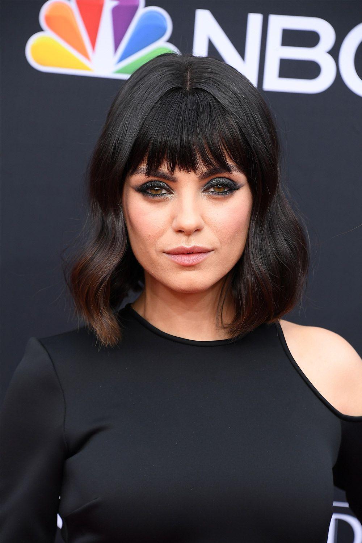 Mila Kunis Got a Bob and Bangs at the 2018 Billboard Music