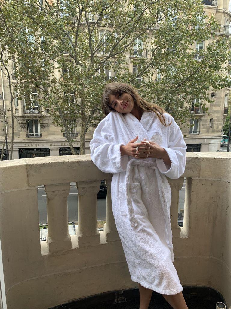 See Sex Education Star Mimi Keene at Paris Fashion Week in Photos