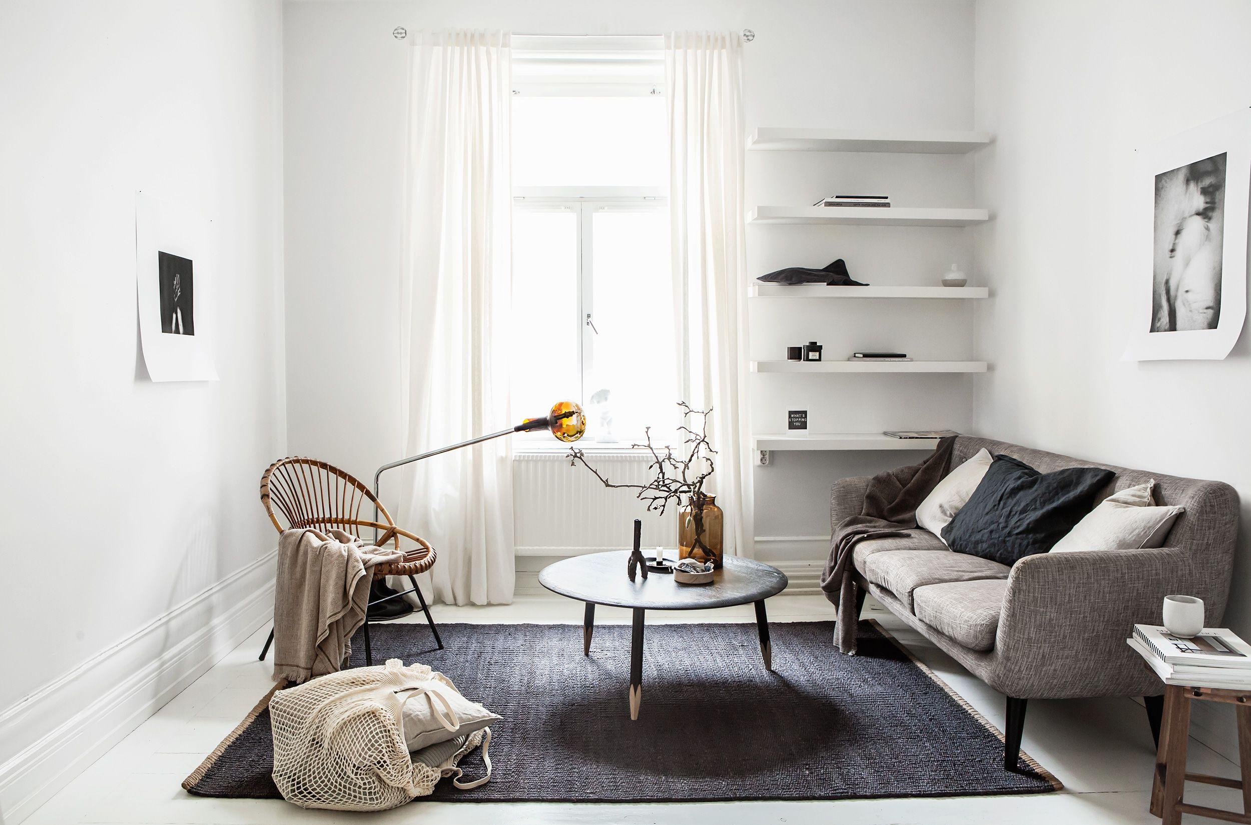 23 stylish minimalist living