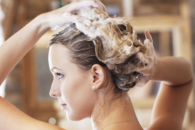 Image result for wash hair