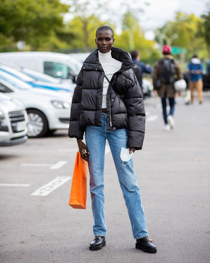street style at paris fashion week   womenswear spring summer 2021  day six