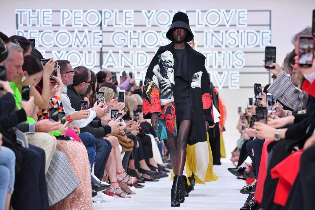 valentino  runway   paris fashion week womenswear fallwinter 20192020