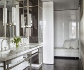 contemporary modern bathrooms