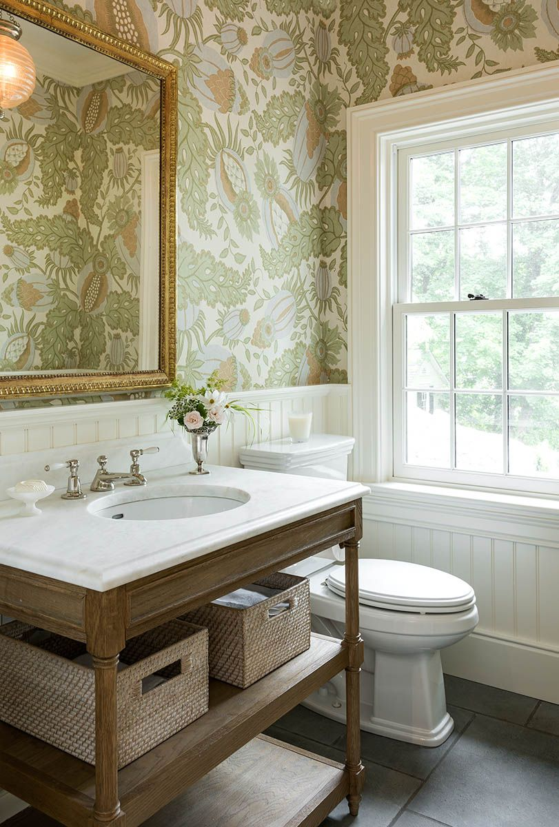 40 Stunning Powder Room Ideas  HalfBath Decor  Design Photos