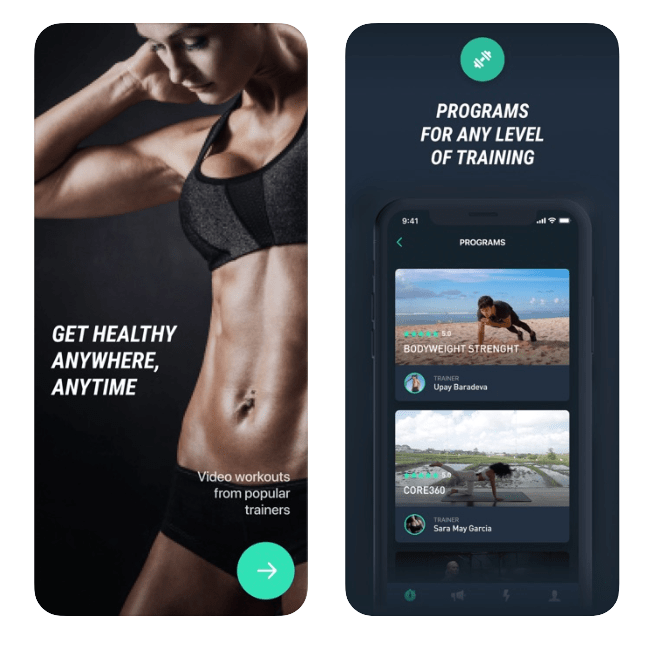 32 Best Workout Apps Of 2020 Free Workout Apps Trainers Use