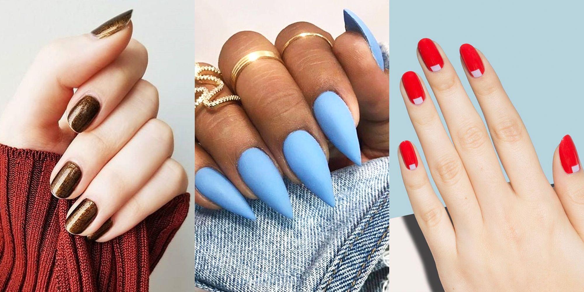 8 nail shapes
