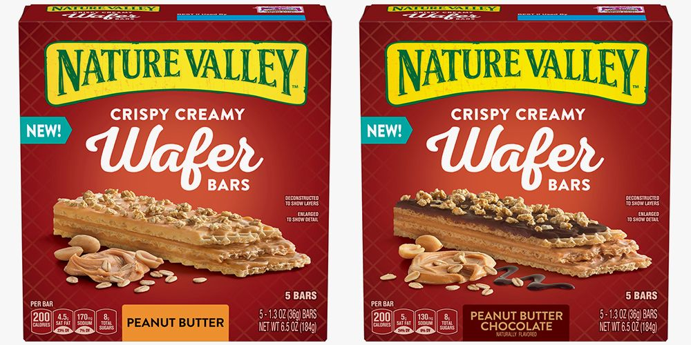 Nature Valleys New Wafer Bars Are a Peanut Butter Lovers