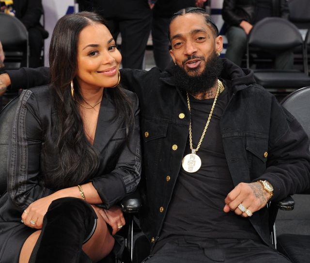 Who Is Nipsey Hussles Wife Facts About Girlfriend Lauren London