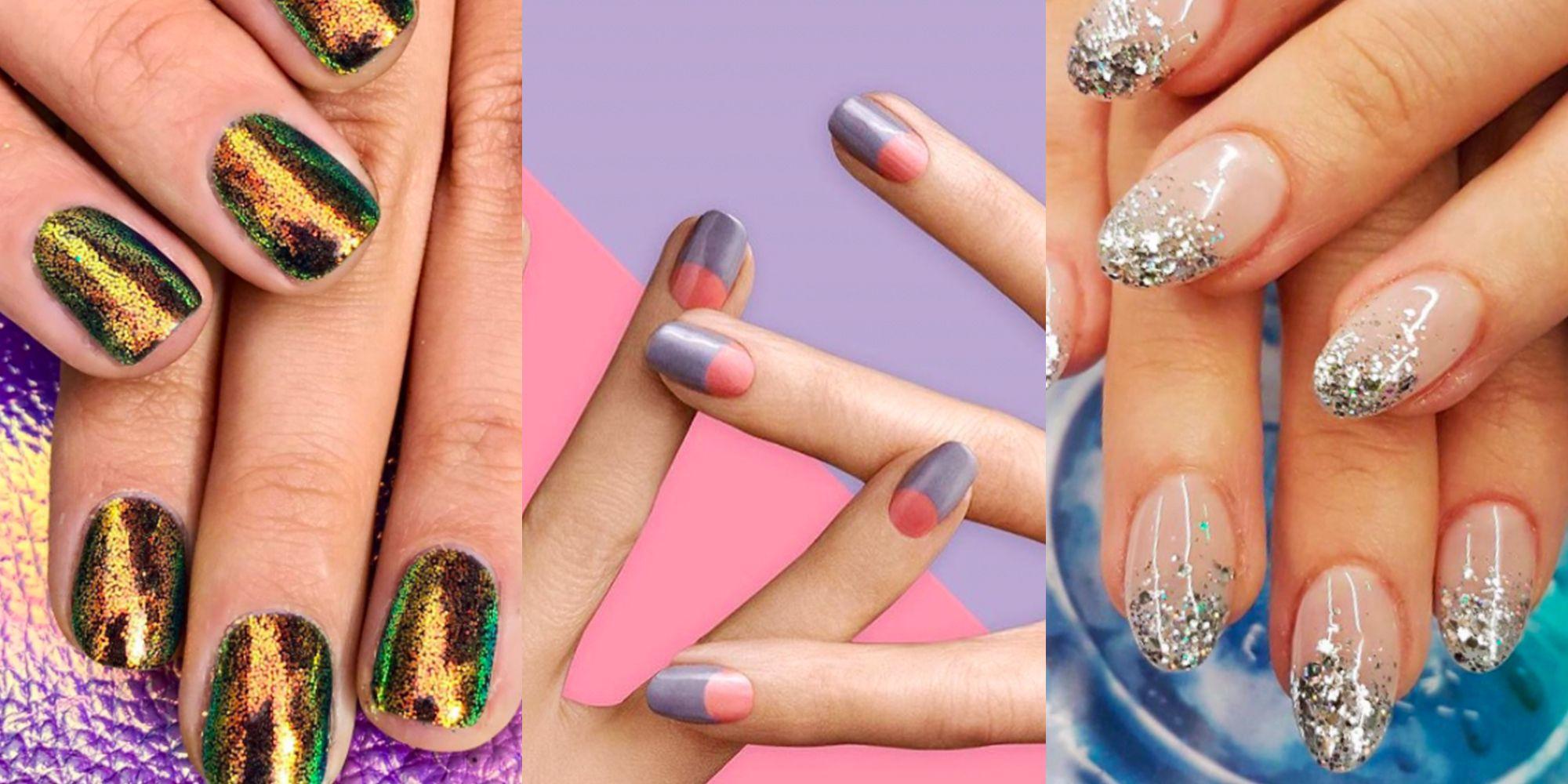 year's nail art