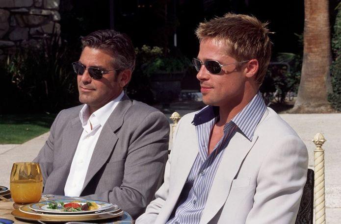 Ocean's Eleven', el triple robo de George Clooney y Brad Pitt