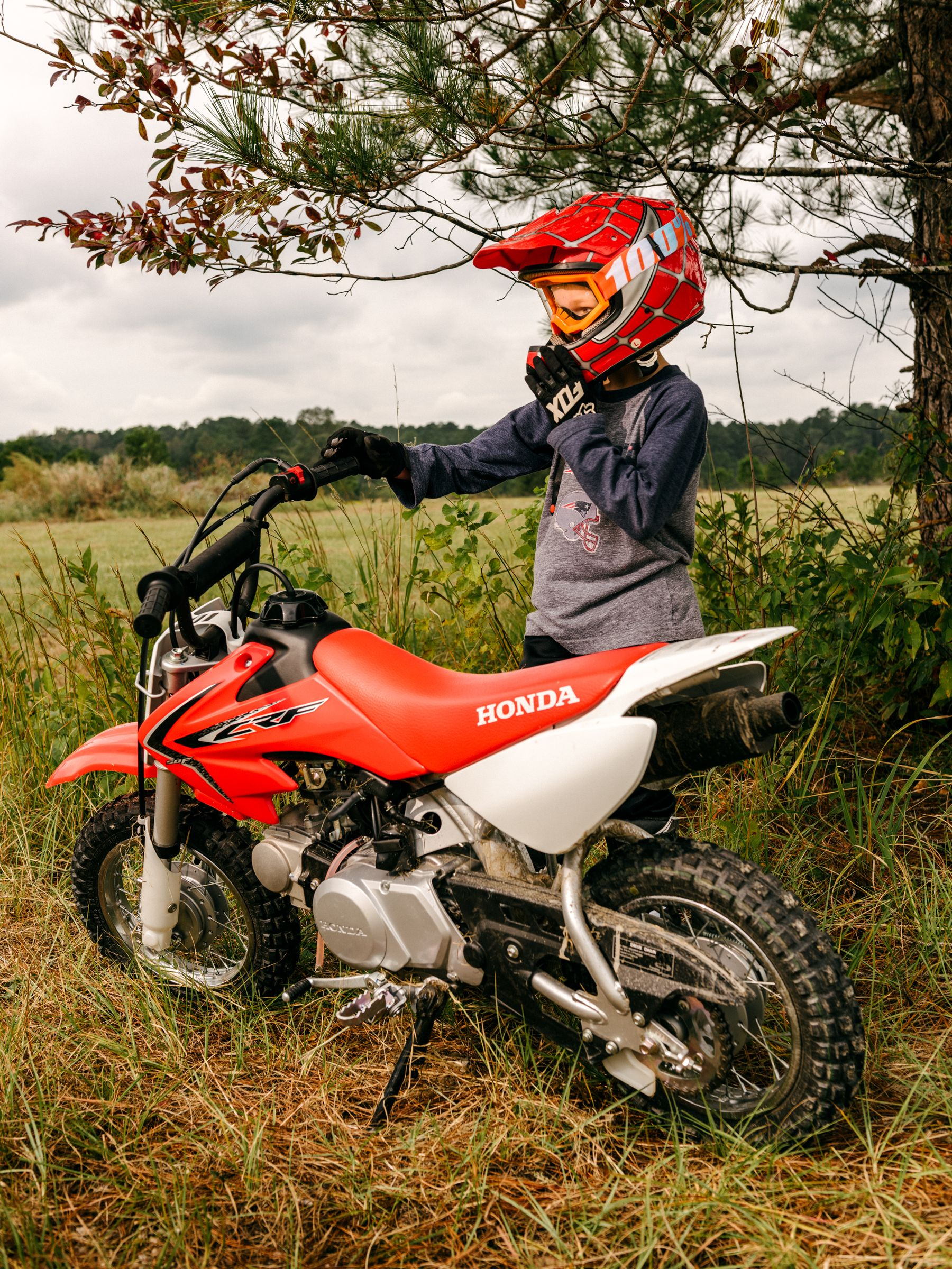 Pictures Of Dirt Bikes For Kids : pictures, bikes, Honda, CRF50F, Review, Starter