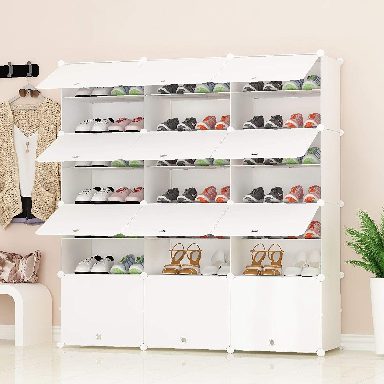 Mueble para zapatos de tela muebles modernos modernos - Armarios para zapatos ...