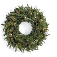 outdoor christmas garland decorating ideas | Psoriasisguru.com