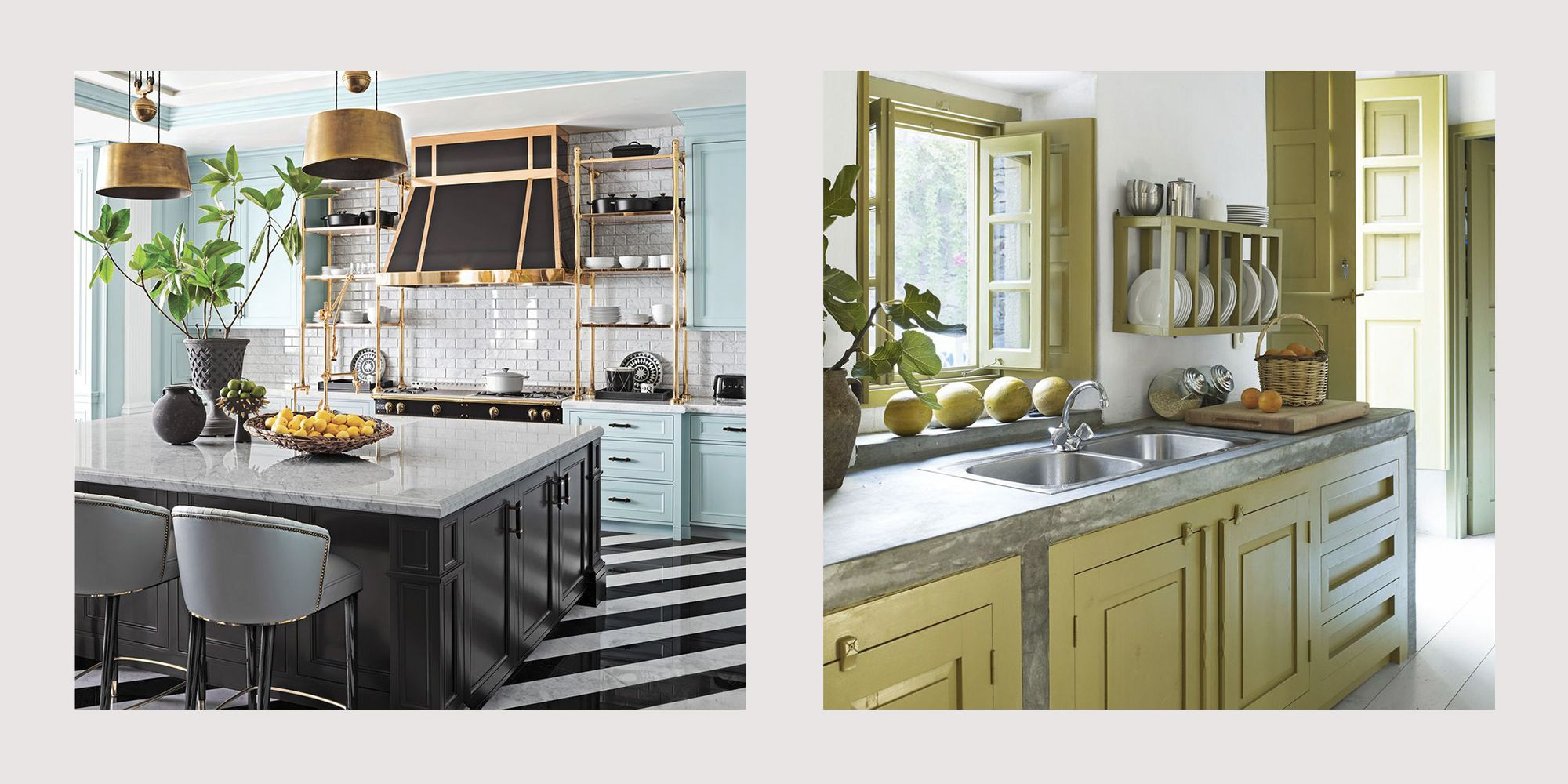 15 Best Painted Kitchen Cabinets   Ideas for Transforming ...