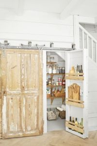 14 Smart Pantry Door Ideas - Types of Pantry Doors