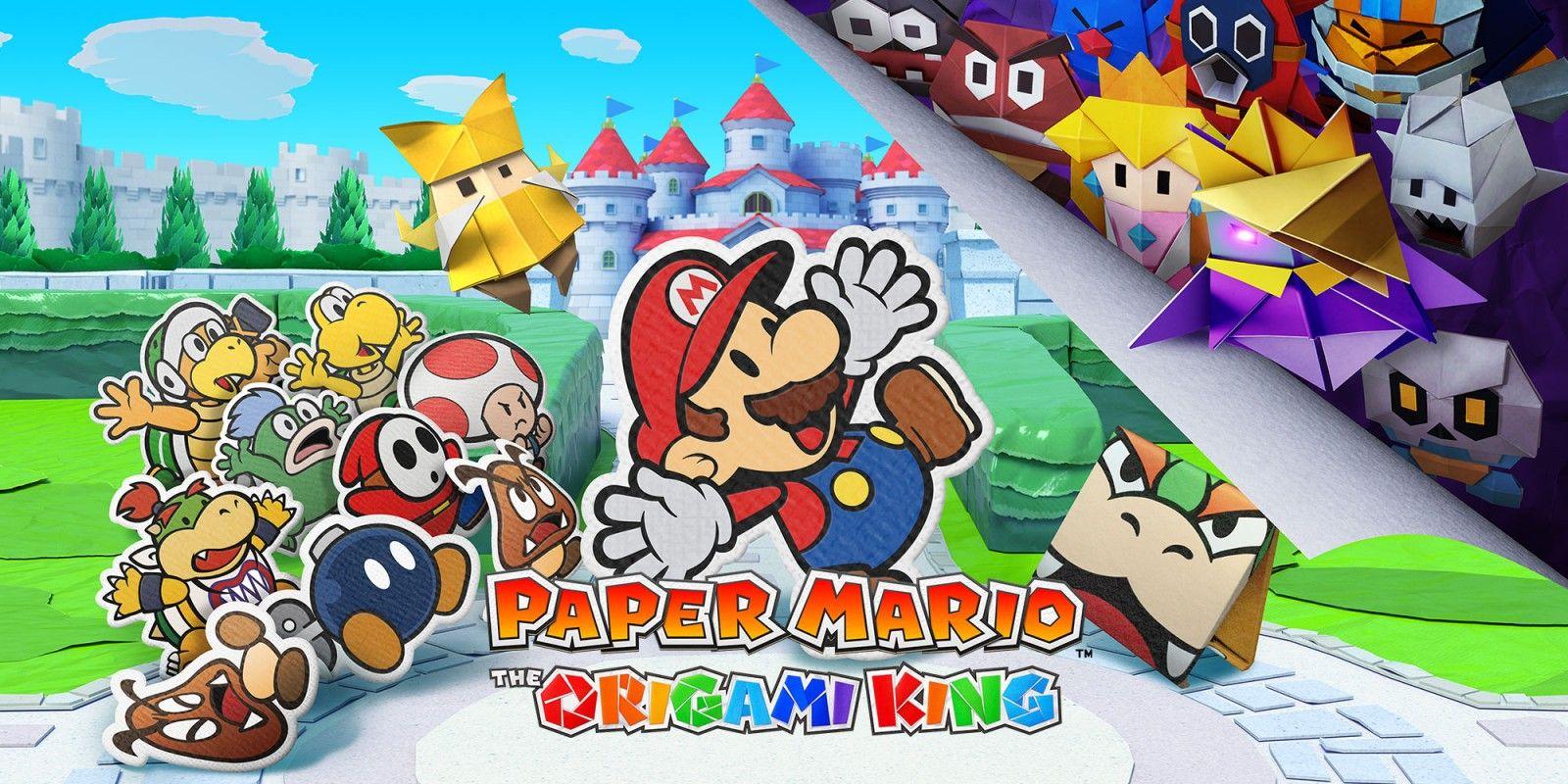 任天堂Switch推出新遊戲《紙片瑪利歐:摺紙國王》!人氣角色馬力歐,碧姬公主化身造型紙片人