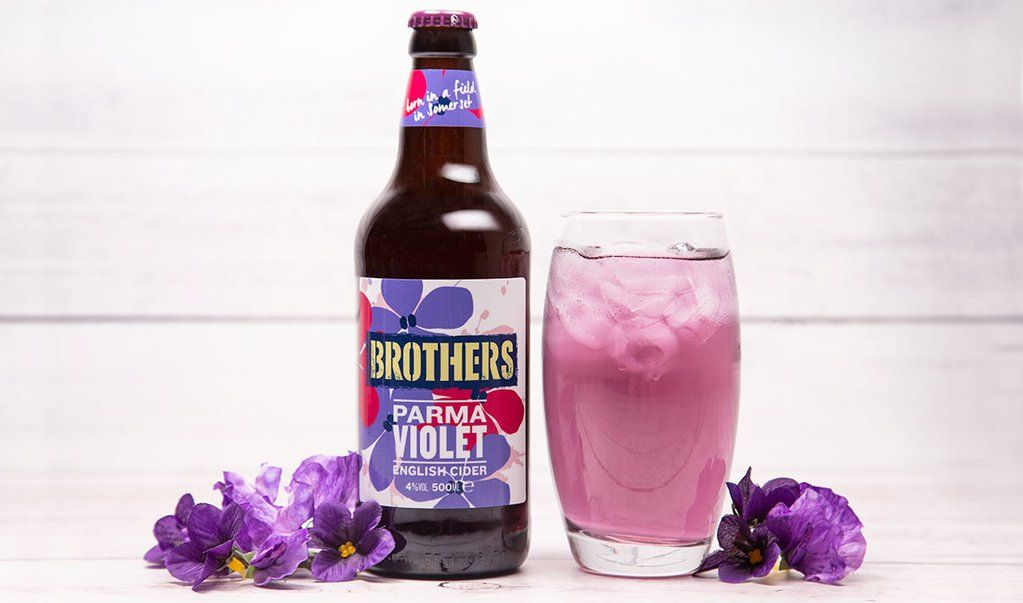 Brothers is now selling a new Parma Violets cider